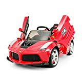Kinder Elektroauto,Musik Licht Ferngesteuerter/Sitzen Kleinkind Car Land Rover/Kinderwagen