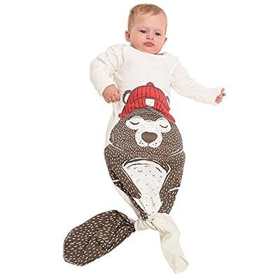dorapocket recién nacidos saco de dormir vestido camisón bebé Infant Wrap Swaddle Manta