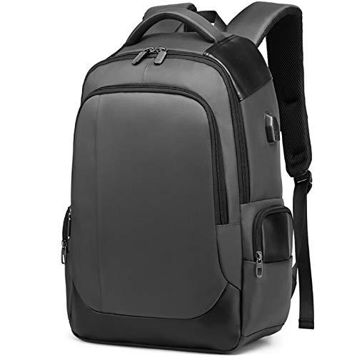 ess Laptop Rucksack Männer Männlich Notebook Rucksack Externe USB Back Pack Tasche 20l Hohe Kapazität Reise Backpacking E Grau ()
