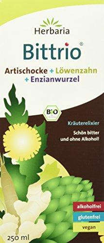 Herbaria Bittrio Kräuterelixier, 1er Pack (1 x 250 ml) - Bio -