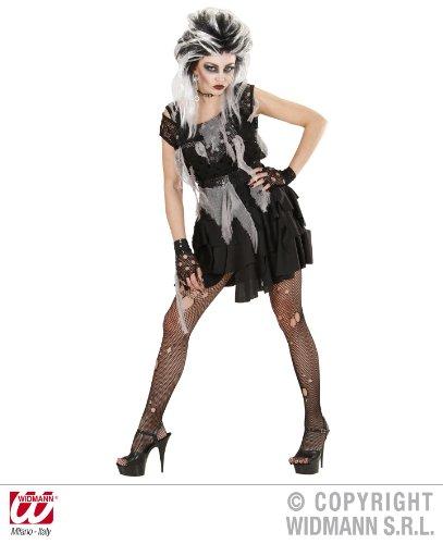 KOSTÜM - ZOMBIE PUNKERIN - Größe 38/40 (Kostüm Zombie Punk)