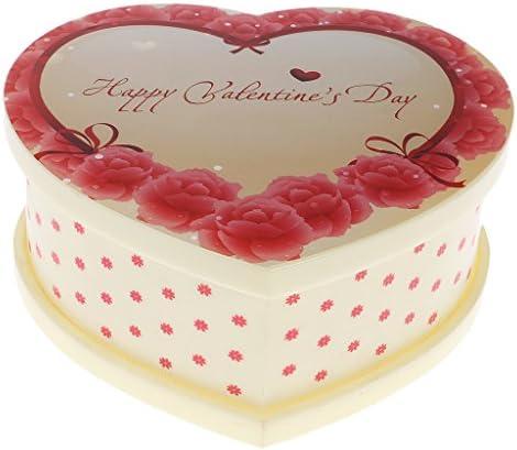 MagiDeal Boîte Boîte Boîte à Musique Danseuse Fille CharFemmete Forme de Coeur Cadeau de Mariage Anniversaire 334466