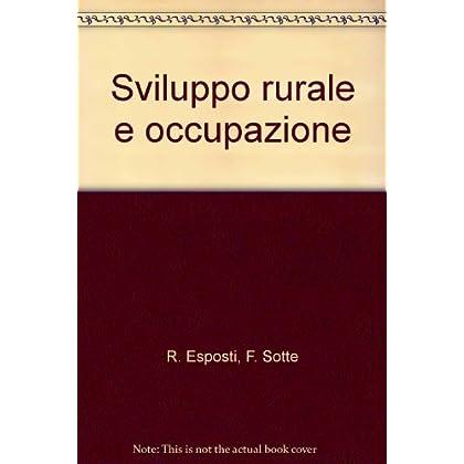 Sviluppo Rurale E Occupazione
