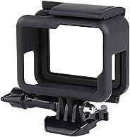 QIMEI-SHOP Custodia Protettiva Compatibile con GoPro Hero 7/6/5/(2018) Black Action Cameras Telaio Case con Zo