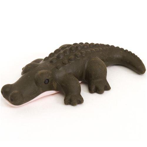 brown crocodile eraser by Iwako from Japan by Iwako