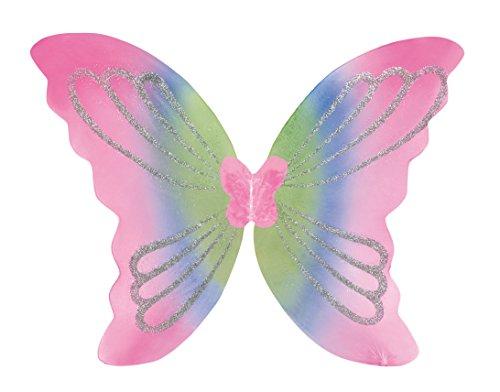 Boland 52849 - Flügel Yara für Erwachsene, circa 46 x 44 cm, Einheitsgröße, mehrfarbig
