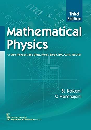 Mathematical Physics 3Ed (Pb 2018) [Paperback] CBS