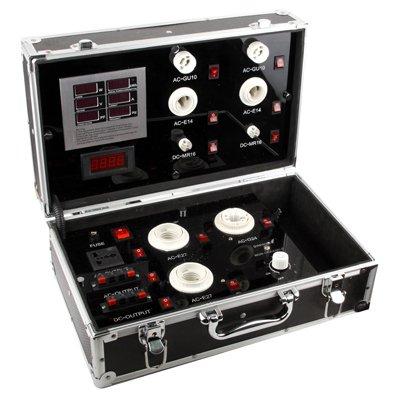 Garmol LED-Licht Digitalanzeige Test Tool Box praktisch, Display Power/Voltage/Current