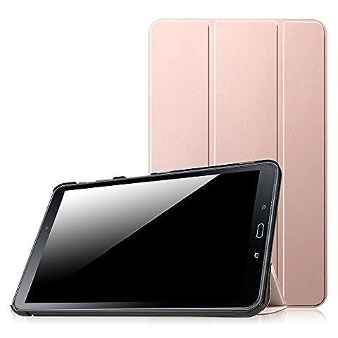 Fintie Samsung Galaxy Tab A 10.1 Étui Housse - Slim Fit PU cuir Coque étui Cover Case avec Support Ultra-Mince et Léger et la Fonction Sommeil/Réveil Automatique pour Tablette Samsung Galaxy Tab A 10,1