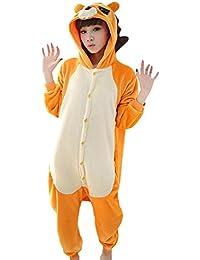 e32b87053b Free Fisher Pijamas Siameses de Franela Dibujo Animado Unisex Traje Disfraz  Cosplay
