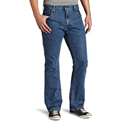 Levi's 517 - Pantalones Vaqueros para Hombre Azul Medio Stonewash 40W/32L