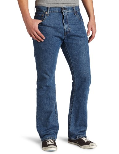 Levi's Men's 517 Boot Cut Jean, Medium Stonewash, 29x32 Levis Relaxed Fit Bootcut Jeans