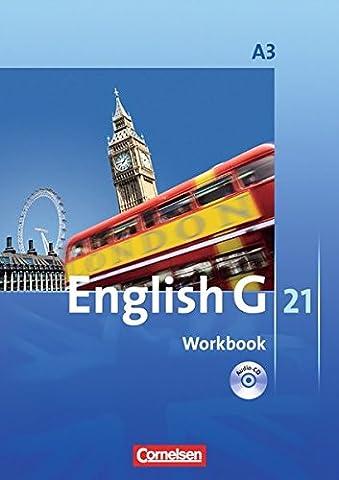 English G 21 - Ausgabe A - Band 3: 7. Schuljahr - Workbook (mit CD)