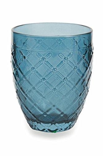 confronta il prezzo Villa d'Este Home Tivoli Rombi Set Bicchieri Acqua, Multicolore, 6 Unità miglior prezzo