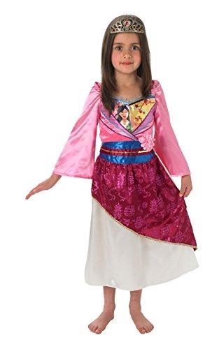 Rubie's 889.217-L - Costume per travestimento da Mulan, Bambina, L (7/8 anni)