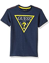 50f8f2cc3630a Guess - Tee Shirt Garçon L73i55 - K5m20 Dukb Marine