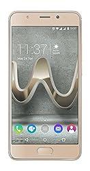 Wiko U Feel Prime Smartphone (12,7 cm (5 Zoll) Full HD IPS-Display, Fingerabdruck-Sensor, 32GB interner Speicher, Android 6 Marshmallow) gold