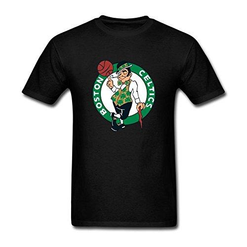 ukc5bd da uomo Boston Celtics T Shirt Black X-Large