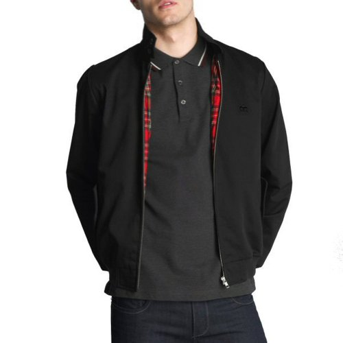 Merc London - Blouson Harrington - rétro/mod - noir - XX-Large