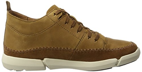 Clarks Herren Trifri Hi Hohe Sneaker Braun (Tobacco Nubuck)