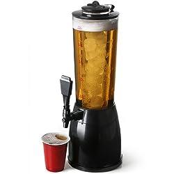 bar@drinkstuff Getränkespender mit Kühlelement, 2,5 l