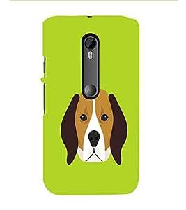 HiFi Designer Phone Back Case Cover Motorola Moto G Turbo Edition :: Virat FanBox Moto G Turbo Virat Kohli ( Dog Face Cute Dog Face )