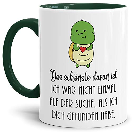 Tassendruck Schildi-Tasse XXX/Liebe / Paar/Liebe / Kaffeetasse/Schildkröte / Lustig /