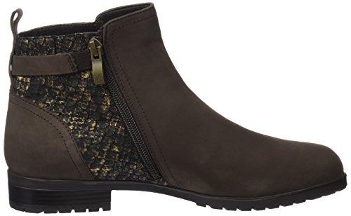 Caprice Damen 25350 Chelsea Boots Braun (Brown Nub.MUL.)