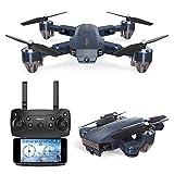 Neue Drohne Quadcopter mit Kamera App Steuerung Headless Mode Tragbare Drohne gut für Anfänger Luftdruck Hover ( Design : 2 Million Wifi Camera )