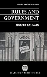 Rules And Government (Oxford Socio-Legal Studies): Non-Statutory Rules and Administrative Law
