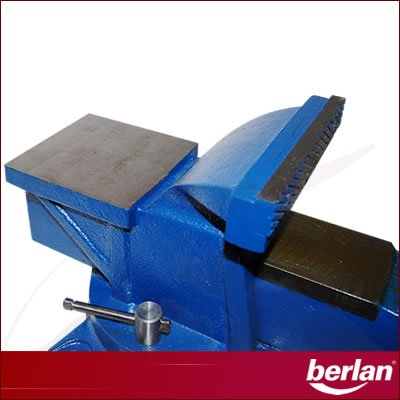Berlan Parallel - Schraubstock 150 mm - 19 kg / drehbar - 3