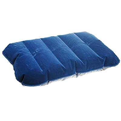 Inflatable Travel Pillow Flight Pillow Flock Flocked Cushion Camping Beach - low-cost UK cushion shop.