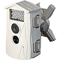 Technaxx Nature Cam Wildkamera (5 Megapixel CMOS Sensor, 6,1 cm (2,4 Zoll) TFT-Display, HD, Kartenslot, Mikrofon), weiß, neueste Version mit 1,1 Sek. Auslösezeit