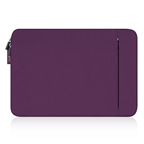 Incipio ORD Sleeve Schutzhülle für Microsoft Surface Pro 3 & Pro 4  [Microsoft lizensiert | Gepolstert | Nylon | Außentasche | Stylus-Schlaufe] - lila