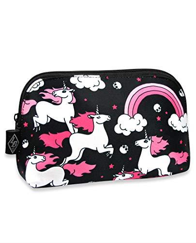 Liquor Brand - Damen Kosmetiktasche Bag Tattoo Style - Rainbow Unicorns