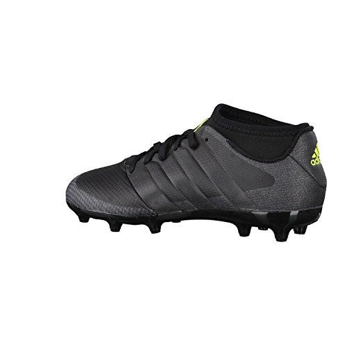 adidas Ace 16.3 Primemesh Fg/Ag J, Chaussures de Foot Garçon core black/core black/solar yellow