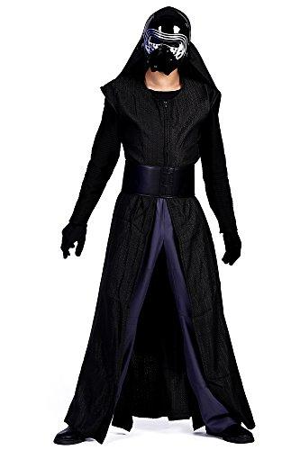 me First Order Sith Apprentice Kylo Ren Full Outfit Set V1 (Kylo Ren Kostüm Details)