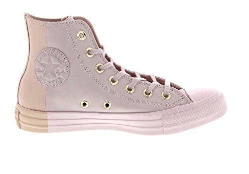 Converse Ctas Hi, Sneaker a Collo Alto Unisex – Adulto Mehrfarbig (Barely Rose/Barely Rose)