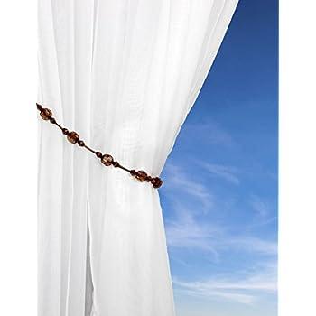 Twinkle Crystal Tie Backs Tie Back Pairs Beaded Rope