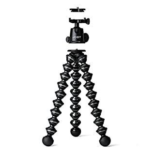 Joby Gorillapod Focus+Ballhead X - Trípode y rótula, Negro (B003II3FD0) | Amazon price tracker / tracking, Amazon price history charts, Amazon price watches, Amazon price drop alerts
