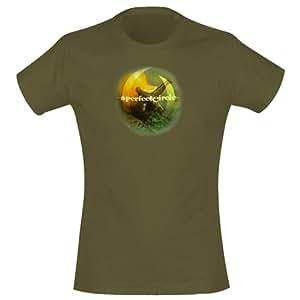 T-Shirt A Perfect Circle (Femme) - Slug Face - Taille L - Vert