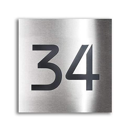 Hausnummern inkl. Beschriftung
