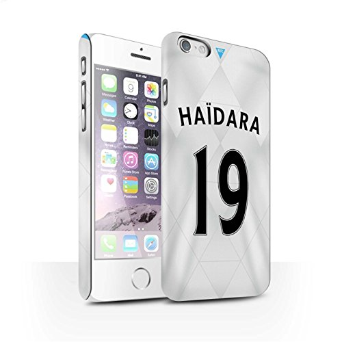 Offiziell Newcastle United FC Hülle / Matte Snap-On Case für Apple iPhone 6 / Pack 29pcs Muster / NUFC Trikot Away 15/16 Kollektion Haïdara