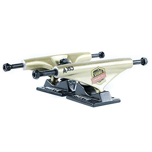 Theeve CSX Pro Bastien Skateboard Trucks Schwarz Gold 5,50