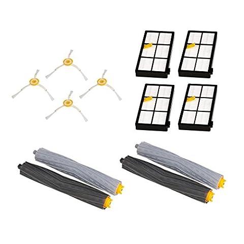 Hmeng Kit de remplacement pour Irobot Roomba 800/900 Series, 800 870 880 900 980 Aspirateur Accessoires de rechange (I)