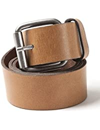 VEDONEIRE Mens Leather Belt (9001 Tan)