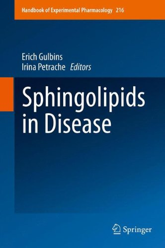 Sphingolipids in Disease (Handbook of Experimental Pharmacology, Band 216)