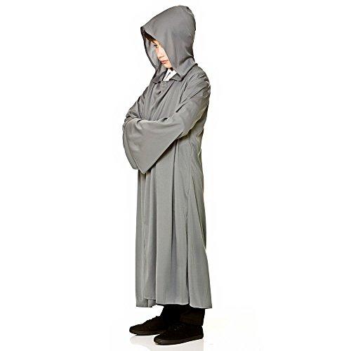 Disfraces de niño con Capucha Túnica (Gris)