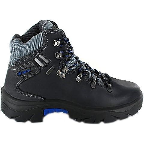 Botas bota Chiruca Somiedo 05 color gris y azul piel - GORETEX Talla 42