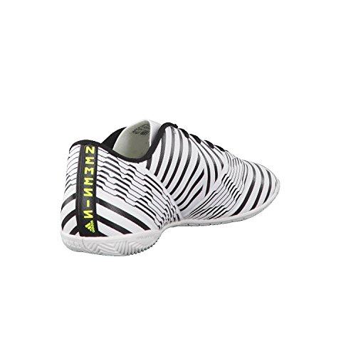 adidas Herren Nemeziz 17.4 in Fußballschuhe Weiß (Footwear White/solar Yellow/core Black)